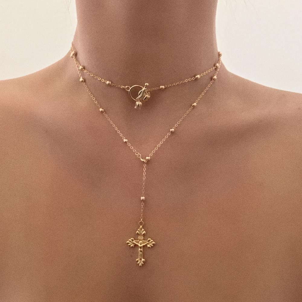 MISHKAH NECKLACE 24K