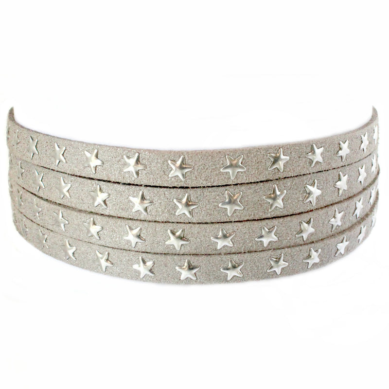HOT MESS CHOKER - SILVER