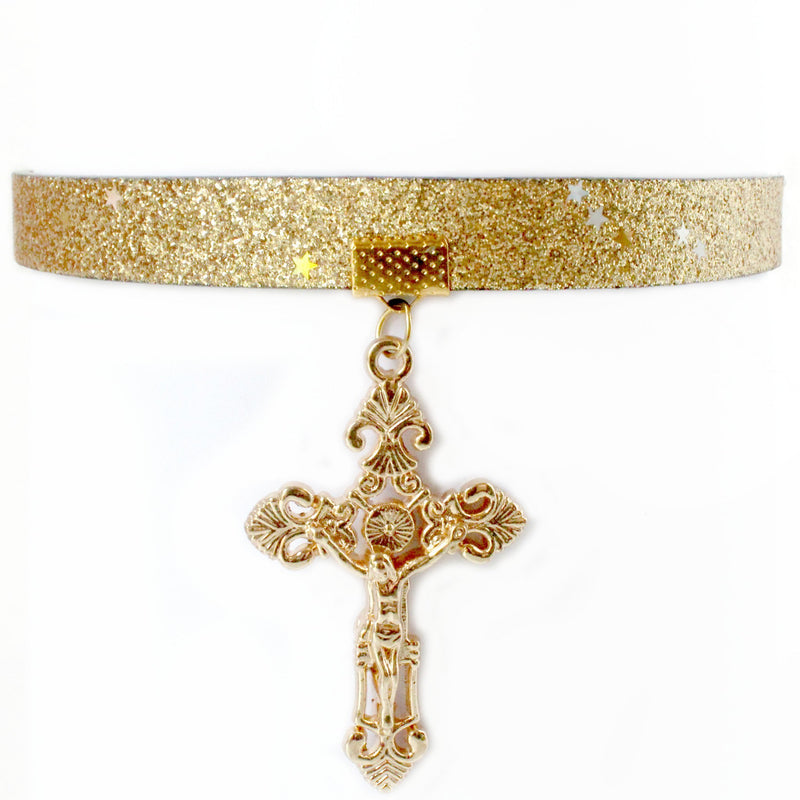 GRANDÉ FAITH PARIS HOOP 24K
