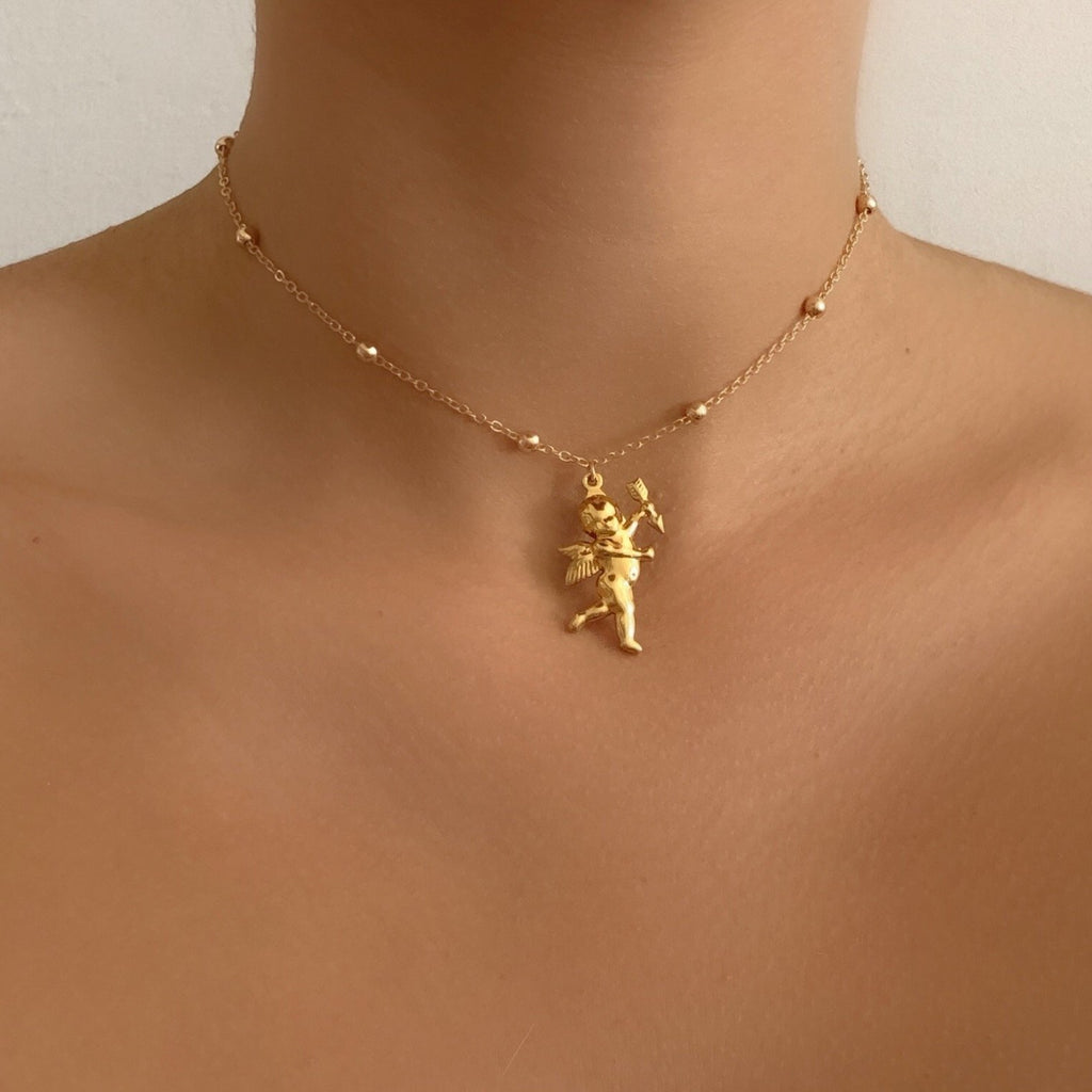 ANGELO MICRO NECKLACE 24K