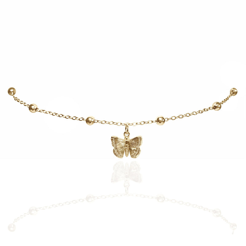 BUTTERFLY BB NECKLACE