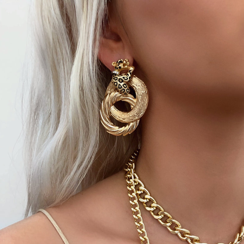 KING HUCCI EARRINGS