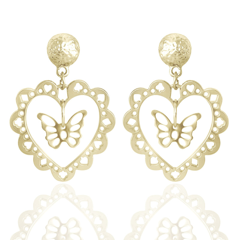 BUTTERFLY EFFECT MICRO HOOPS