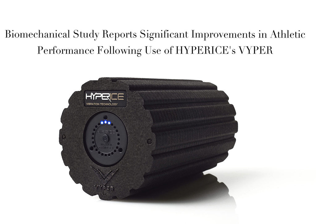 Biomechanical Study Reports Significant Improvements in Athletic Performance Following Use of HYPERICE's VYPER