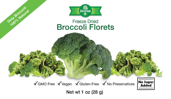 Freeze Dried Broccoli Florets