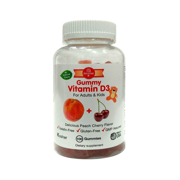 Gummy Vitamin D for Adults & Kids