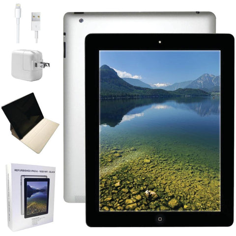 Apple MD510LLA-ER Refurbished 16GB iPad(R) 4 with Wi-Fi(R) (Black)