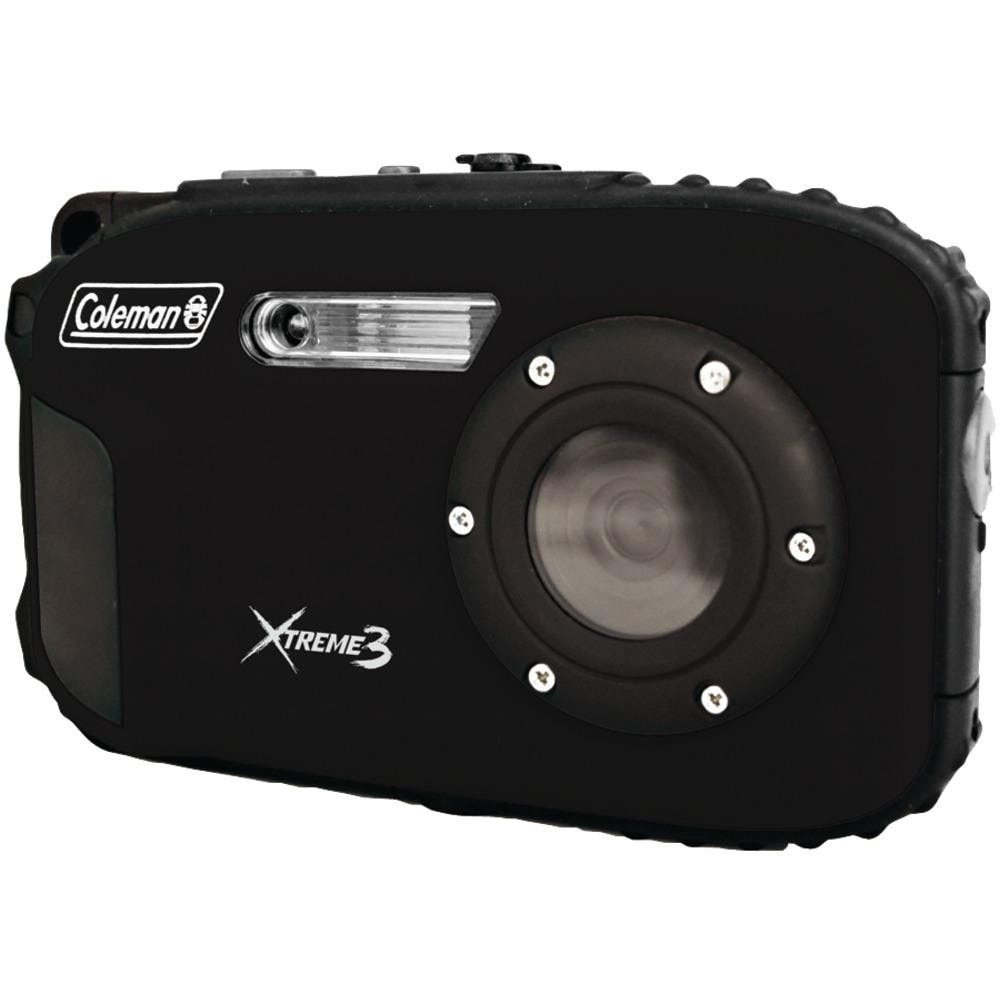 Coleman 20.0-megapixel Xtreme3 Hd Video Waterproof Digital Camera (black)