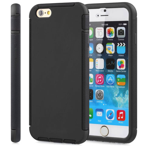 IPhone 6 / 6S Dust Dirt Shock Proof Full Body Case Cover Black