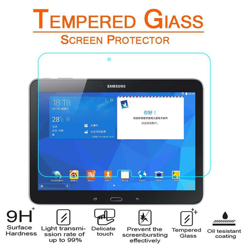 Samsung Galaxy Tab 4 10.1 / T530 Tempered Glass Screen Protector
