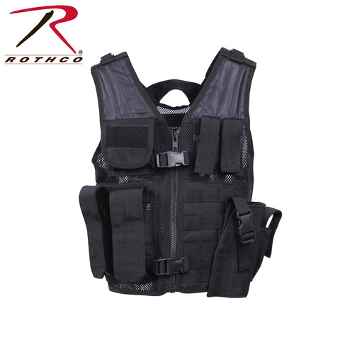 Kids Cross Draw Tactical Vest  $59.95