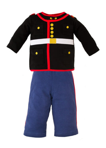 Marine Dress Blues 2 pc Infant Set