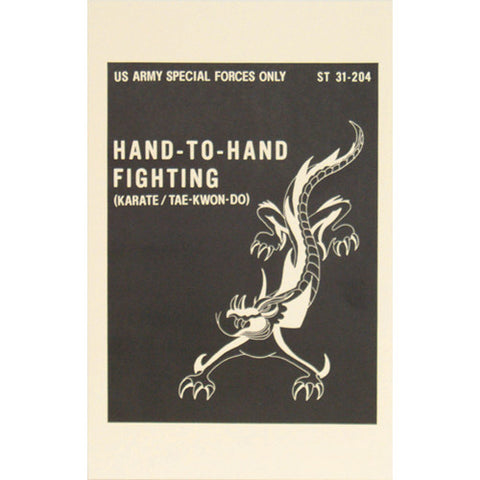 Hand to Hand Fighting ST-31-204  $9.95