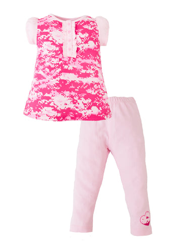 Pink Camo Legging Set $22.95