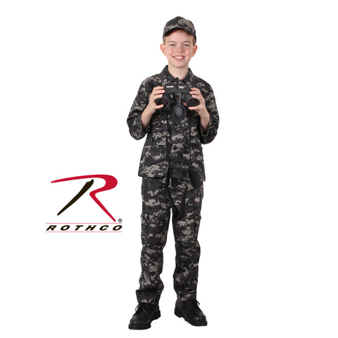 Kids B.D.U. Shirt Subdued Urban Digital Camo  $22.95