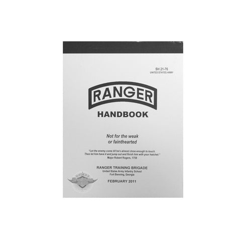 Ranger Handbook SH 21-76 U.S. Military Manual  $12.00