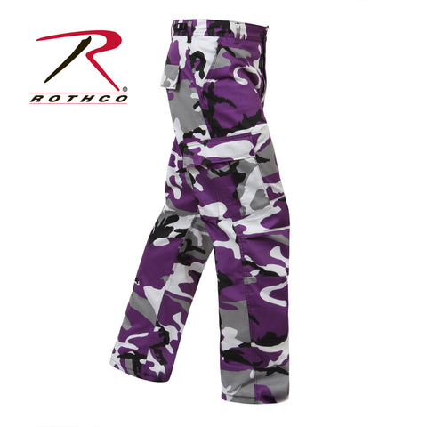 Ultra Violet Camo (Purple)  B.D.U. Pants  $39.95