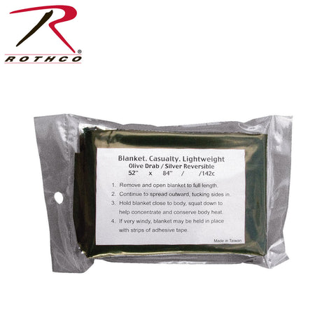 Rothco Lightweight Survival Blanket  $6.95