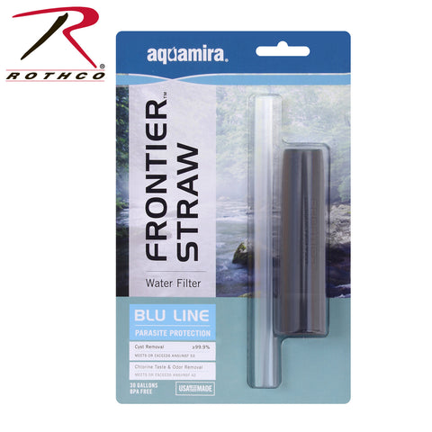 Aquamira Frontier Emergency Water Filter System Straw  $14.95