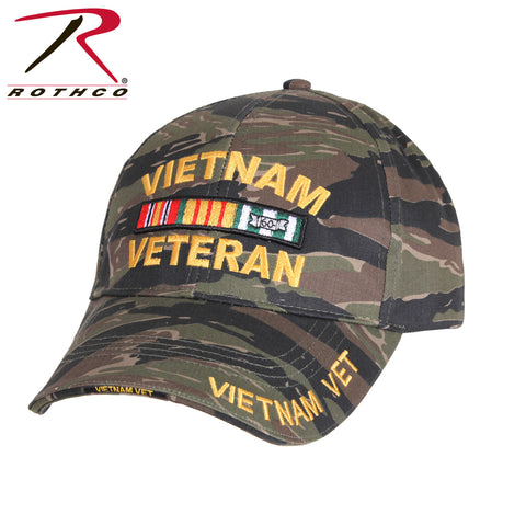 Tiger Stripe Vietnam Veteran Hat  $14.95