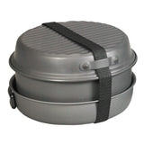 NDūR - 9 PIECE COOKWARE MESS KIT W/KETTLE  $74.95