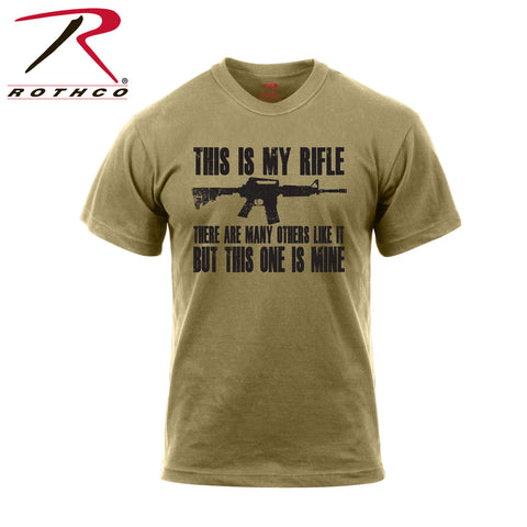 'This Is My Rifle' T-Shirt $15.95