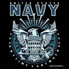 Black Navy T-Shirt  $19.95