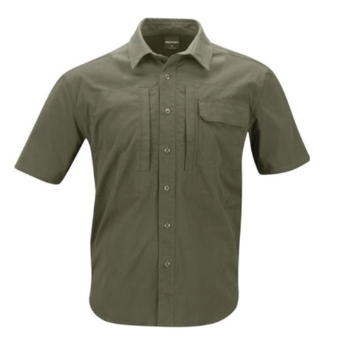 Mens lightweight tactical shirts - Short sleeve - Olive $44.95