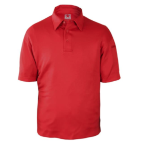 I.C.E. Performance Polo - Short Sleeve - Red  $44.95