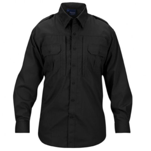 Mens lightweight tactical shirts - long sleeve - Black $44.95