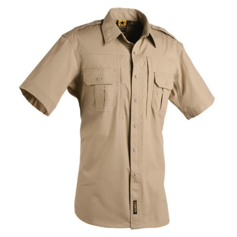 Mens lightweight tactical shirts - Short sleeve - Tan  $44.95
