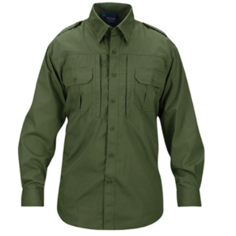 Mens lightweight tactical shirts - long sleeve - Olive  $44.95