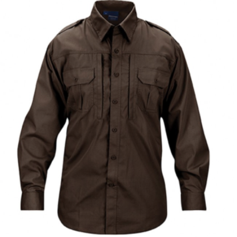 Mens lightweight tactical shirts - long sleeve - Sheriff's Brown  $44.95