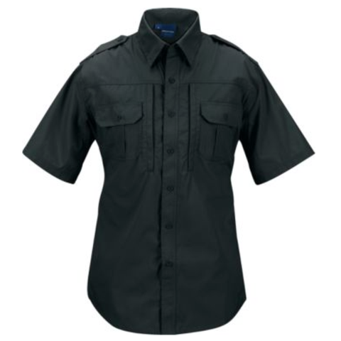 Mens lightweight tactical shirts - Short sleeve - Black $44.95