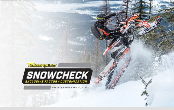 2019 Timbersled SnowCheck Program
