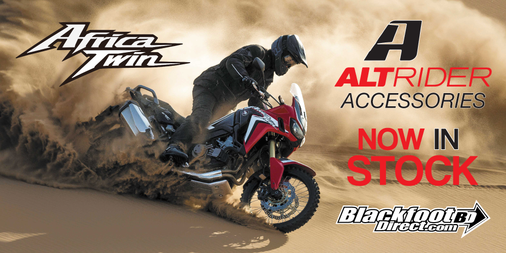 AltRider Africa Twin Accessories in stock at Blackfoot Direct