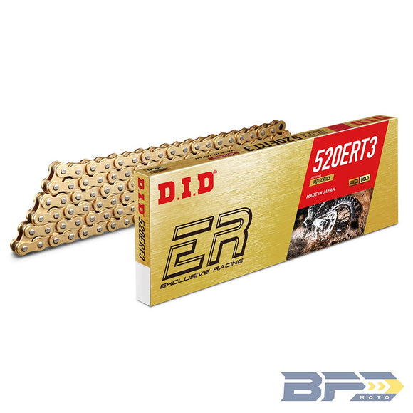 DID 520 ERT3 Gold Chain - BFD Moto
