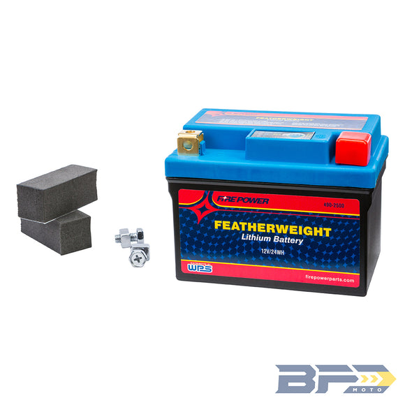 Firepower Featherweight Lithium Battery - BFD Moto