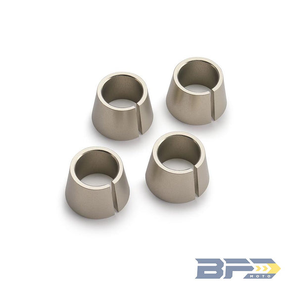 Powerparts Solid Bushing Kit for Rubber Mounted Triple Clamps - BFD Moto