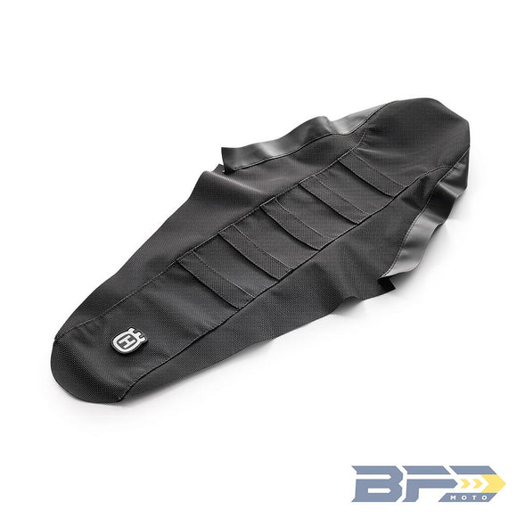 Husqvarna Factory Seat Cover with Ribs - BFD Moto