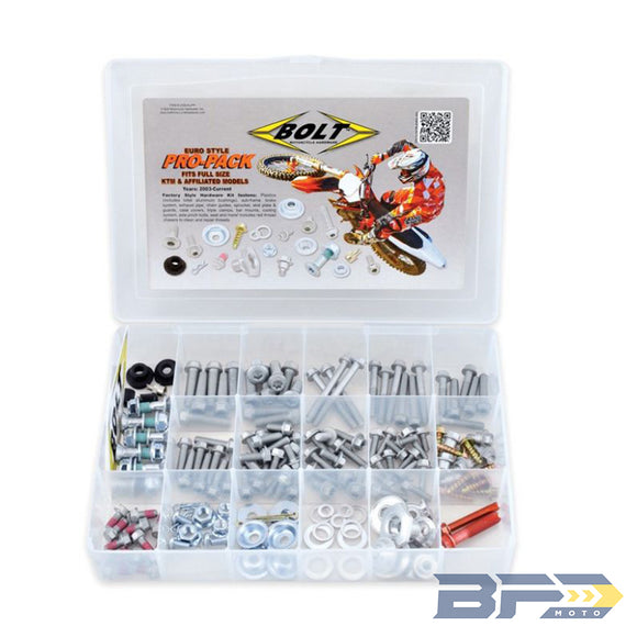Bolt Euro Style Pro Pack 145 Piece