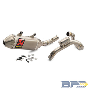 Akrapovic Complete Racing Exhaust System - BFD Moto