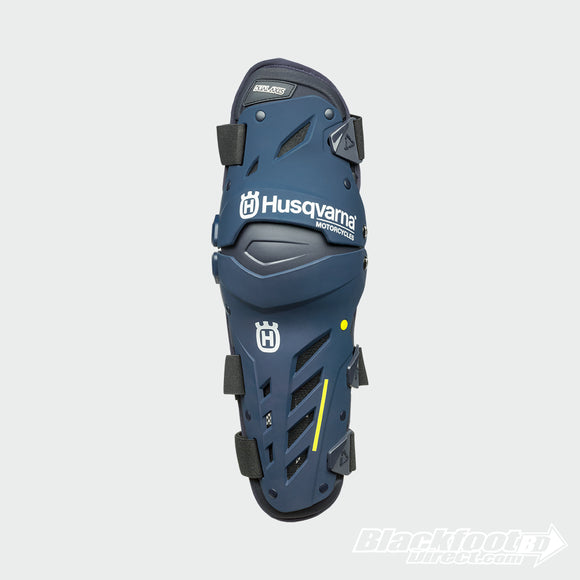 Husqvarna Dual Axis Knee Guard - Blackfoot Direct