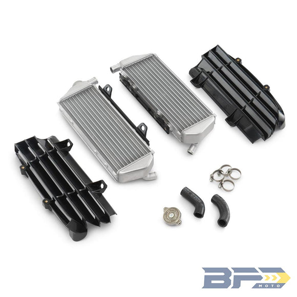Powerparts Factory Radiator Kit - BFD Moto