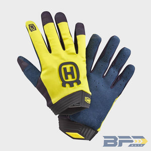 100% Husqvarna iTrack Railed Gloves - 2021 - BFD Moto