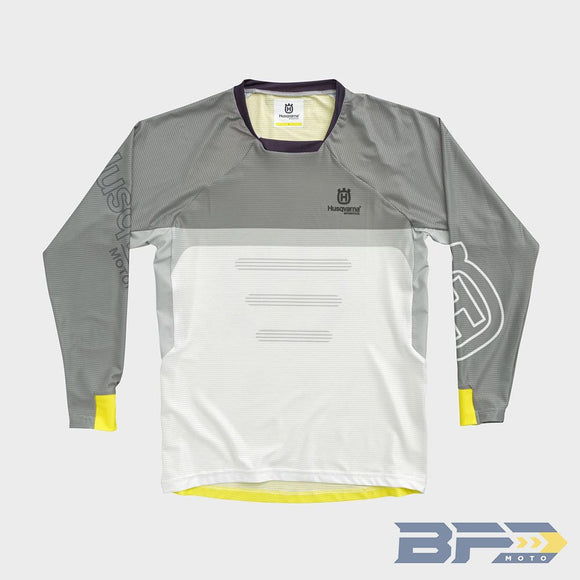 Husqvarna Youth Railed MX Jersey - 2021 (COMING SOON) - BFD Moto