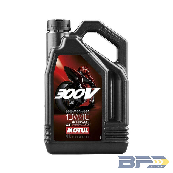 Motul 300V Synthetic Engine Oil - BFD Moto