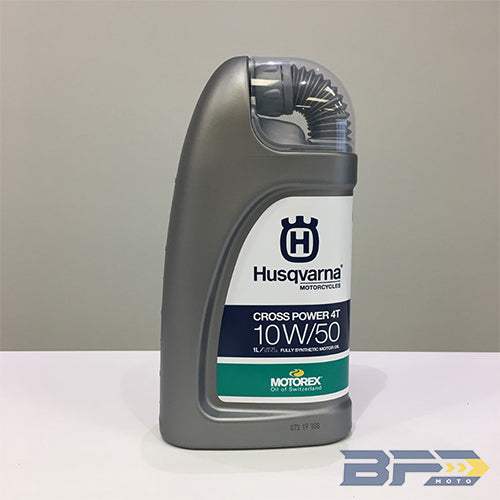 Husqvarna Motorex Cross Power 10W50 Oil - BFD Moto