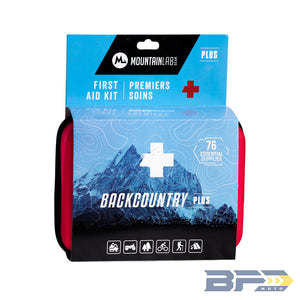 Mountain Lab Backcountry Plus First Aid Kit