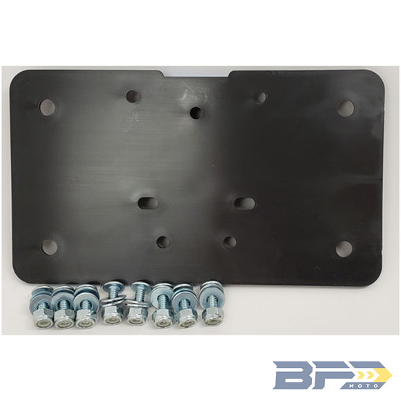 Sicass Universal License Plate Holder - BFD Moto